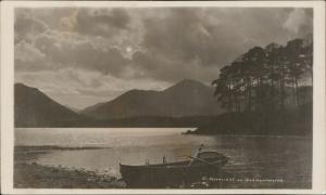 Moonlight on Darwentwater Cumbria boat