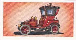 Glengettie Tea Trade Card Vintage Cars No 14 Vauxhall Hansom Cab 1905