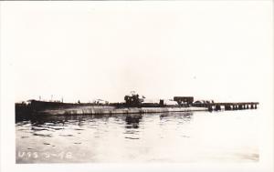 Submarine U S S S-48 Real Photo