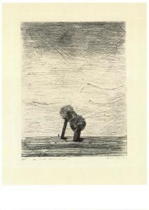 Art Postcard, Les noces chimiques (1925) Chemische Hochzeit by Max Ernst 80U