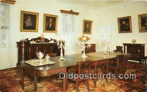 Dining Room, Hermitage, Home of General Andrew Jackson Nashville, TN, USA Unu...