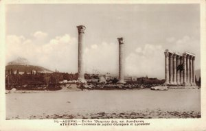 Greece Athenes Colonnes de Jupiter Olympien et Lycabette 03.75
