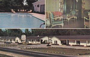 Exterior, Interior & Swimming Pool Views, Colonial Manor Motel, South Brewton...