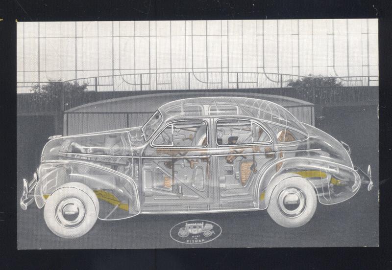 1939 NEW YORK WORLD'S FAIR PONTIAC GLASS CAR EXHIBIT ADVERTISING ...