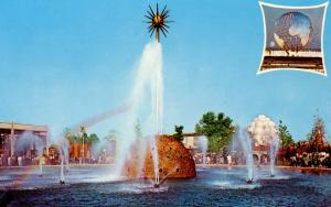 NY - New York World's Fair, 1964-65. Solar Fountain