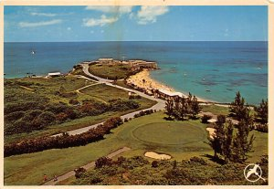 St Catherine's Point View From the Holiday Inn Bermuda Island Unused