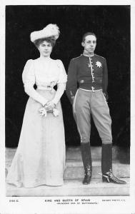 King and Queen of Spain, Princess  Ena of Battenberg Alfonso XIII