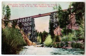 Fish Creek Trestle, Missoula MT