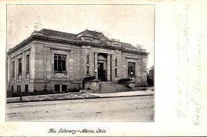 Ohio Akron The Library 1906