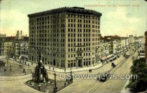 Hotel Pontchartrain Detroit MI 1909