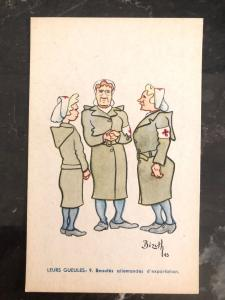 Mint Belgium Picture Postcard  WW2 The Merry Wives Of Berlin