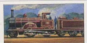 Glengettie Tea Vintage Trade Card History Of The Railways No 21 The Experiment