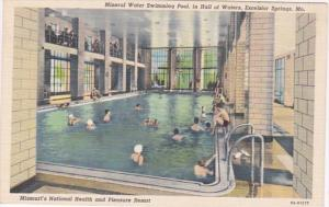 Missouri Excelsior Springs Mineral Water Swimming Pool Hall Of Waters Curteich