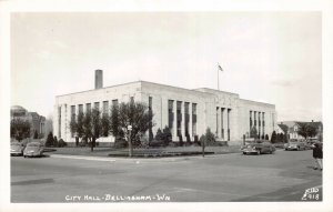 Real Photo Postcard City Hall in Bellingham, Washington~130612