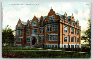 Appleton Wisconsin~Larence University~Stephenson Hall of Science~Razed 1998~1910