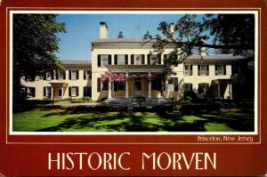 New Jersey Princeton Historic Morven Built 1775