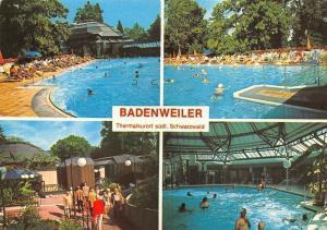 Badenweiler Thermalkurort Suedl. Schwarzwald Schwimmbad Swimming Pool