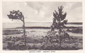 Maine Sebasco Estates The Sebasco Lodge Albertype