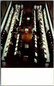 Trappist, Kentucky Postcard Our Lady of Gethsemani Church Choir in Basilica