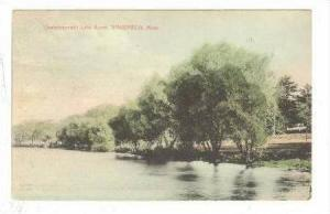 Quananapowitt Lake Scene, Wakefield, Massachusetts, 1909