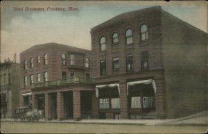 Crookston MN Hotel Crookston c1910 Postcard