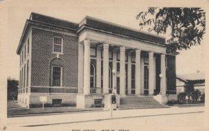 MARLIN , Texas, 1937 ; Post Office
