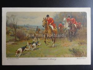 Fox Hunt Theme FORWARD AWAY after J.S.S.Wells c1910 by Meissner & Buch