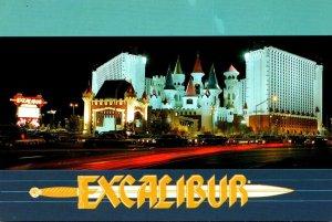 Nevada Las Vegas Excalibur Hotel & Casino By Night