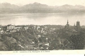 E00070 switzerland lausane savoia mountains before 1904