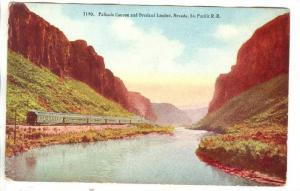 Overland Limited train in Palisade canyon, Nevada , 00-10s : Southern Pacific...