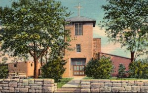 New Mexico Santa Fe San Miguel Mission Oldest Church In The U S Curteich