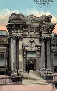 Pennsylvania Pittsburgh Dollar Savings Bank 1917
