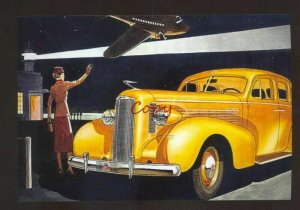 1937 LASALLE LA SALLE AUTOMOBILE CAR DEALER ADVERTISING POSTCARD '37