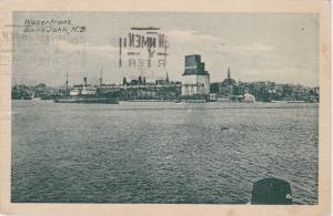 Waterfront,  St Johns, New Brunswick,Canada, 1929, Steamer