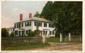 MA - Concord. Home of Ralph Waldo Emerson