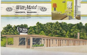 ONEONTA , Alabama , 1959 ; Witt Motel