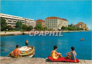 Postcard Modern Hotel Zadar Zagreb University