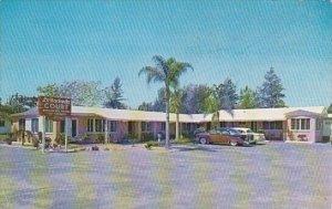 Florida Saint Petersburg La Hacienida Court 1960