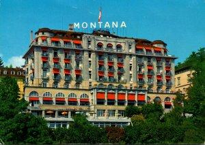 Switzerland Lucerne Hotel Montana