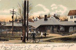 Franklin New Hampshire Train Station Vintage Postcard AA22056