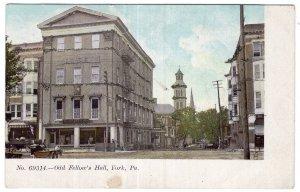 York, Pa., Odd Fellow's Hall