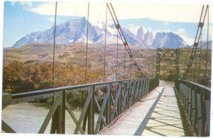Puente Sobre El Rio Payne  Magallanes Chile Chrome
