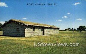 Fort Kearny in Kearney, Nebraska