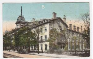 Queens Hotel Toronto Ontario 1908 postcard