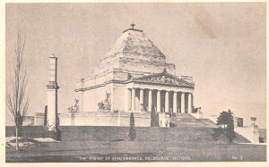 The Shrine of Remembrance Melbourne, Victoria Austria Unused