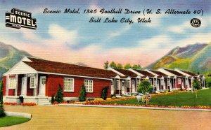 UT - Salt Lake City. Scenic Motel
