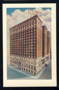Philadelphia, Pennsylvania/PA/Penn Postcard, The Benjamin Franklin Hotel