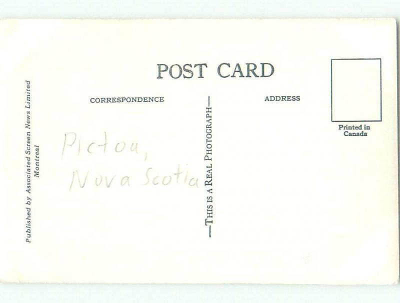 old rppc CABINS Pictou - Near Trenton & New Glasgow Nova Scotia NS W0884