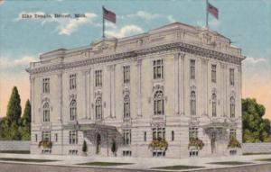 Michigan Detroit Elks Temple 1917