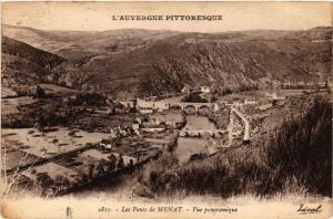 CPA L'Auvergne Pittoresque Les Ponts de MENAT vue panoramique (409683)